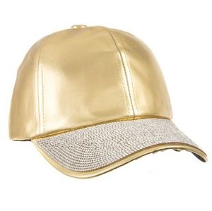 Gold Rhinestone Hat